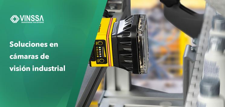Soluciones en cámaras de visión industrial para tus proyectos