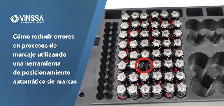 Como reducir errores en procesos de marcaje utilizando una herramienta de posicionamiento automático de marcas